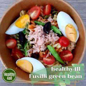 ็Healthy4all Fusilli green bean salad